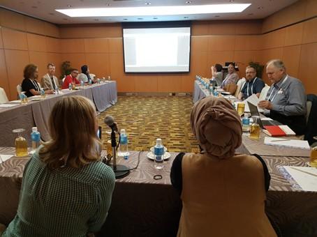 Arbeitssitzung der IFLA Sektion Audiovisuelles und Multimedia auf dem Weltkongress der Bibliotheken WLIC2018 in Kuala Lumpur